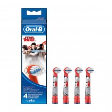 Oral-B Kids Stages Star Wars Replacement Red Toothbrush Heads - Pack of