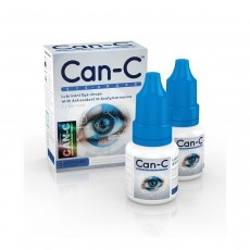CAN-C Eye Drops 2x 5ml Vials