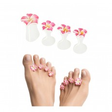 Dip Into Pretty Pedicure Spacers -Pink-Exotic Kiss