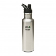Klean Kanteen 27oz Sport - Brushed Stainless